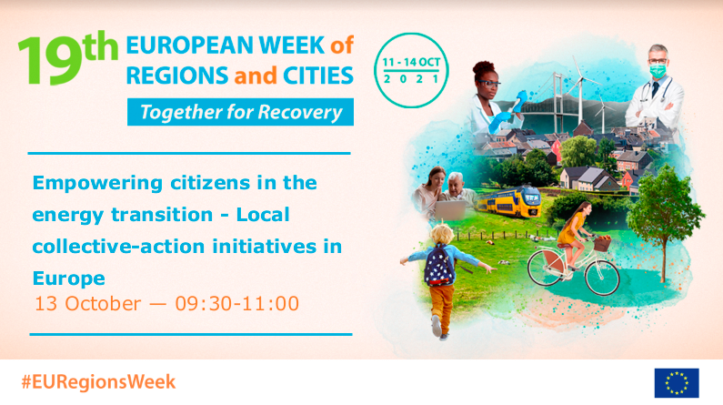 #EURegionsWeek – Empowering citizens in the energy transition
